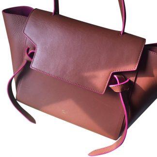 64c79103b6ad Highest Quality Céline Imitation Luggage Drummed Micro Black ...