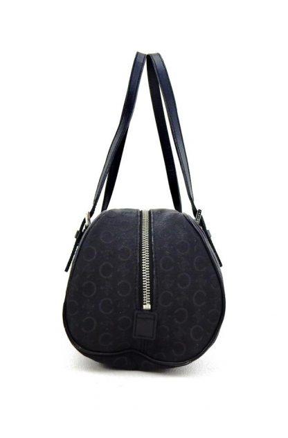 6733d2a430f Wholesale Handbags Céline Knockoff Monogram Cc Barrel Black Canvas Tote  luxury 7 star replica handbags